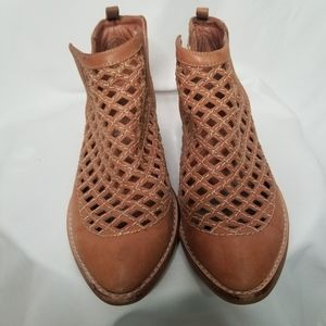 Jeffrey Campbell leather booties